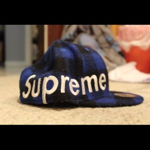 Supreme Buffalo Check Hat